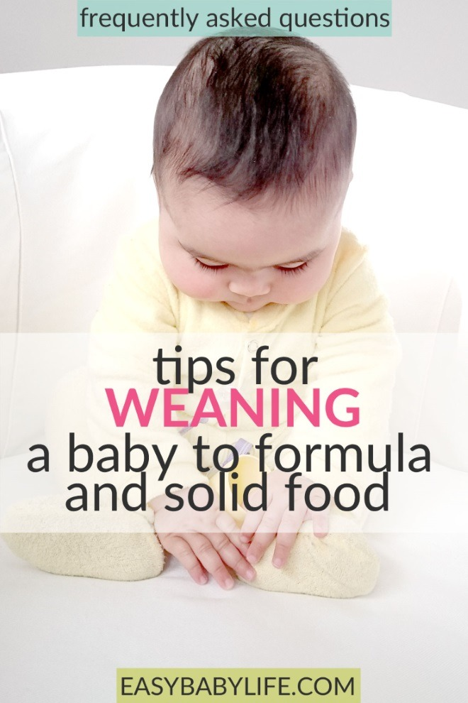 weaning baby to formula
