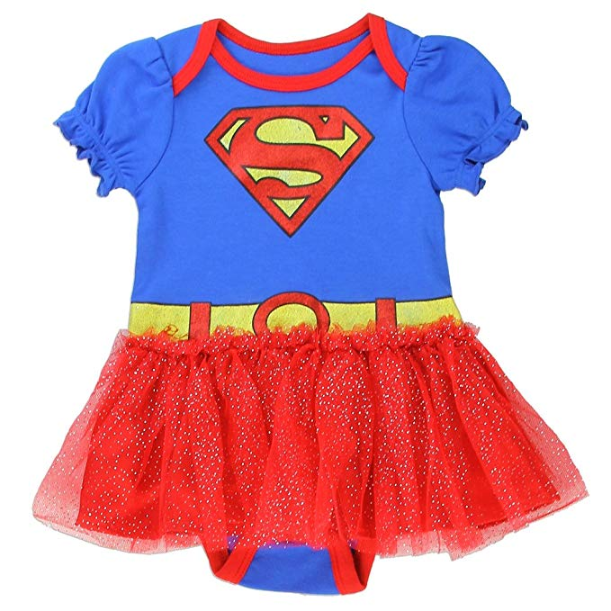 superman baby girl costume