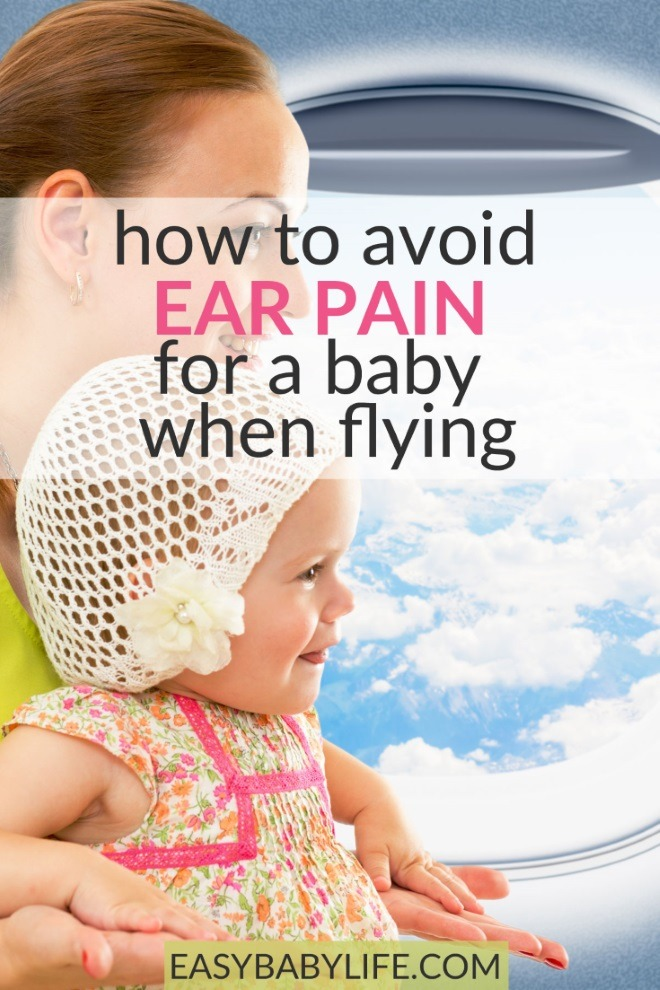 avoid ear pain in babies when flying