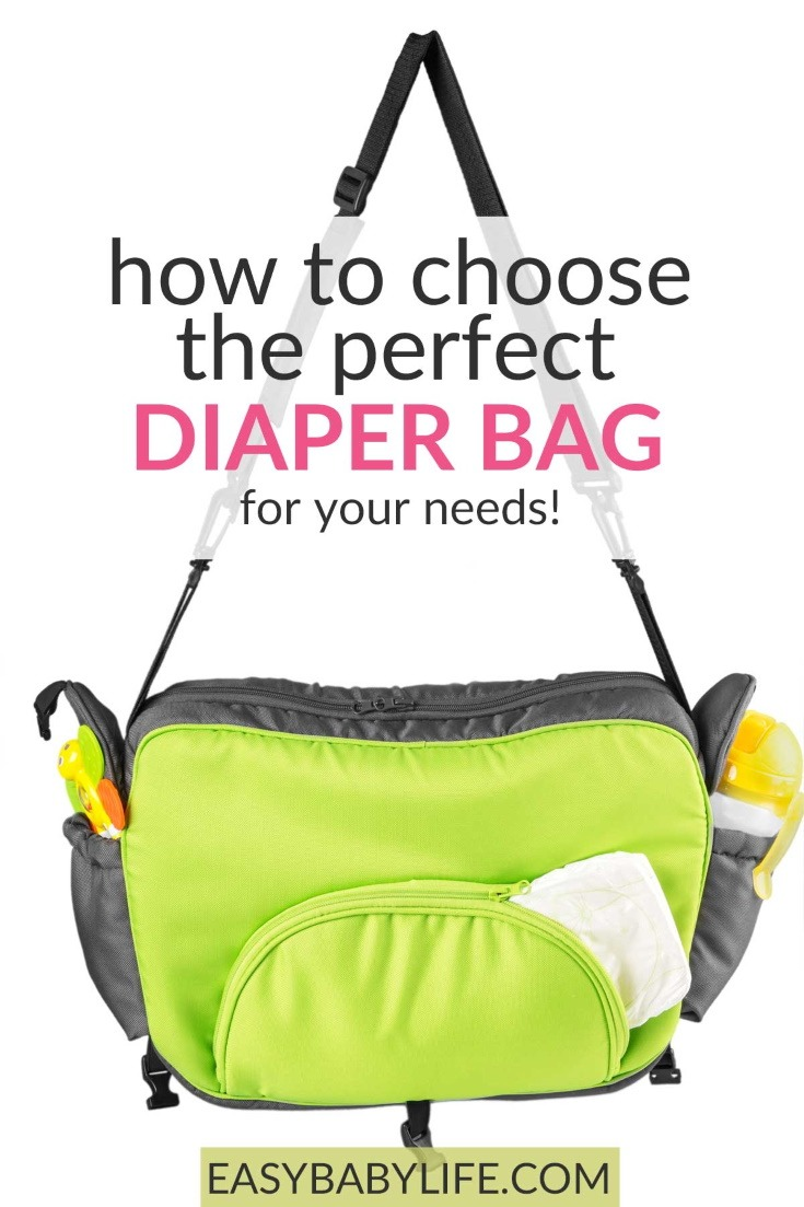 how to choose diaper bag