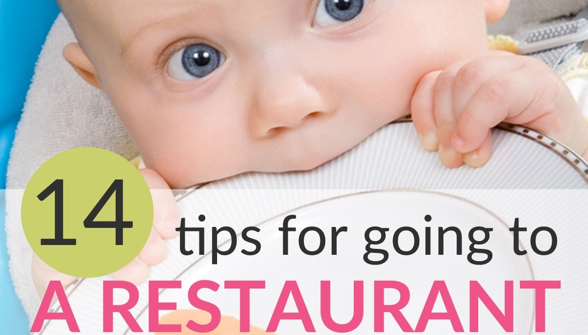 tips for going to restaurant with a baby