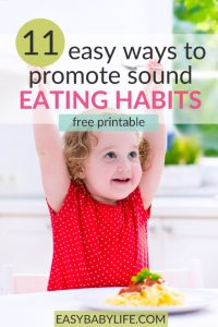 childrens eating habits
