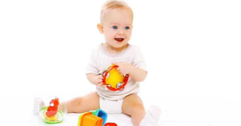 The BEST Baby Toy Gifts By Month From Newborn to 1st Birthday