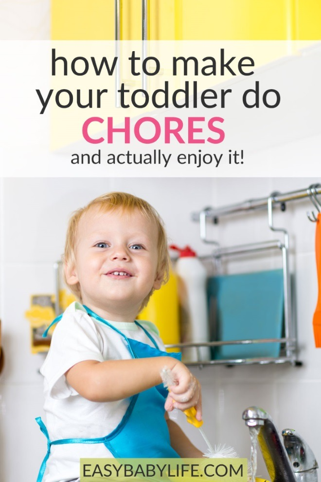 how make toddlers do chores