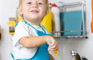 How to Make Your Toddler Do Chores and Love It! –  5 Tips!