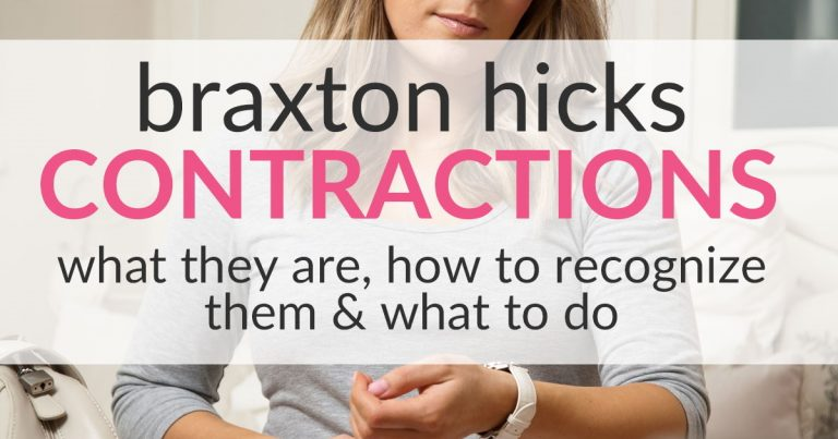 Braxton Hicks Contractions – What They Are & What To Do