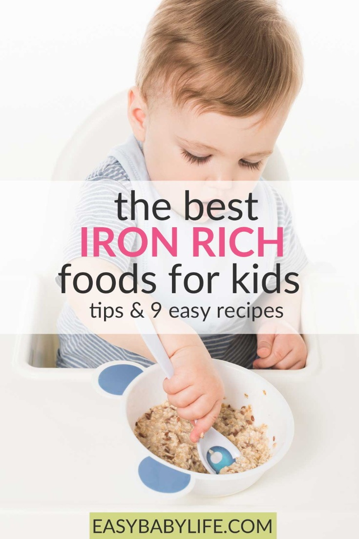 best iron-rich foods for kids