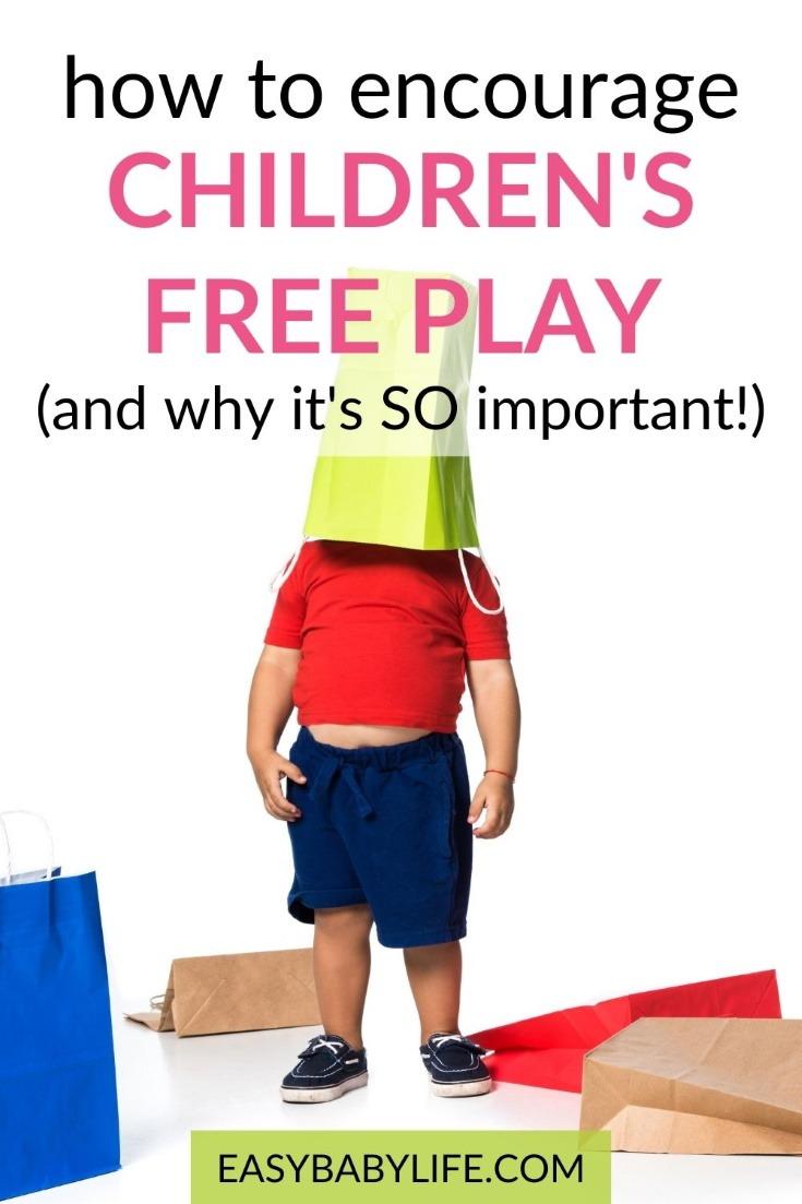 benefits of children's play